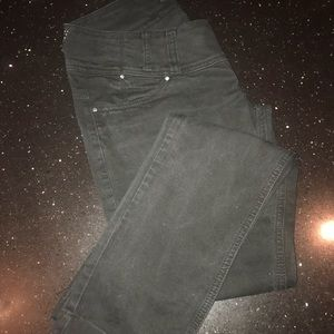 Pants - Black Jeans with snaps and buttons